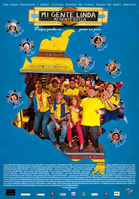 Mi Gente Linda Mi Gente Bella - Poster promocional