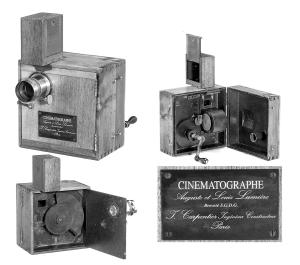 El Cinématographe de la Compañía Lumière